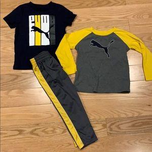 Puma 3 piece outfit
